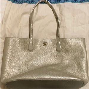 Tory Burch Perry Gold Tote